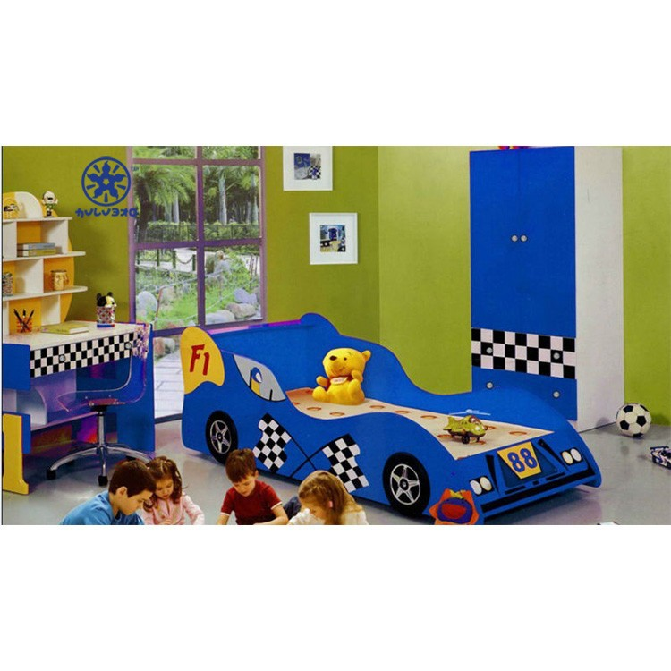 Boys Car Bed In Bedroom Furniture Sets Playing Car Racing Car Bed