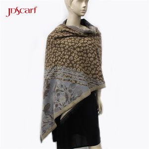 lady winter cashmere womens warm wraps and shawls wool acrylic shawl wrap
