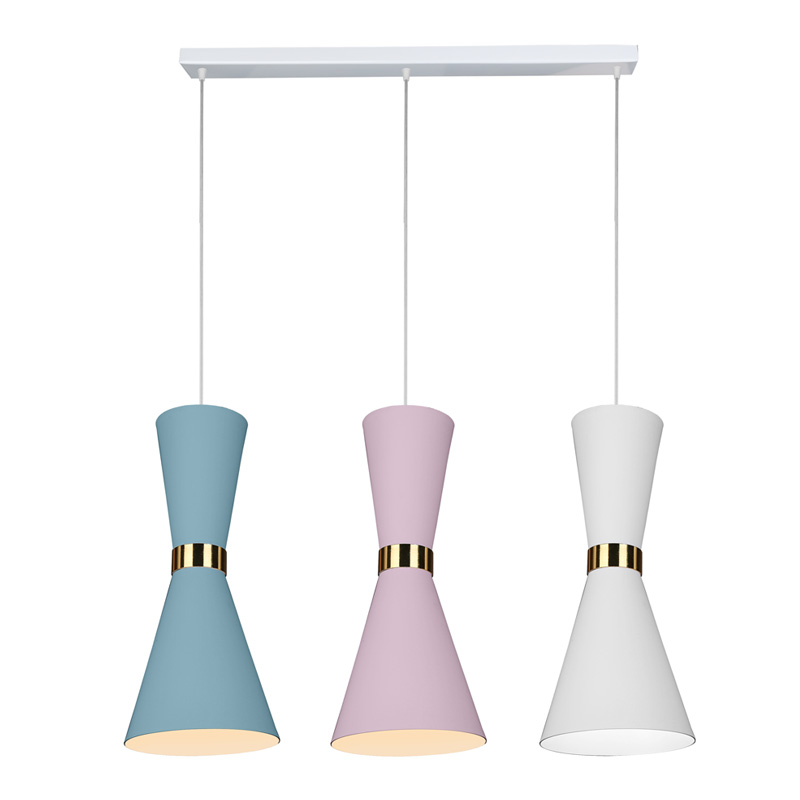 Modern Fashional Triple Decoration Lamp, Dimmable Residential Hall Hanging Led Pendant Light