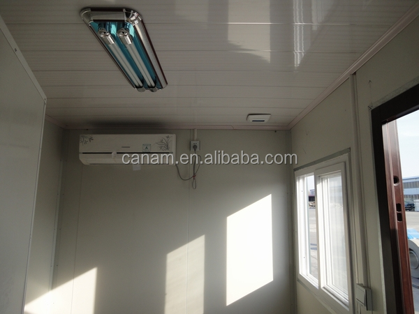 CANAM-russian prefabricated house with plywood floor for sale