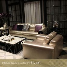 2014 postmodern livingroom sofa luxury classic furniture sofa set JS17-01 from china supplier-JL&C Furniture