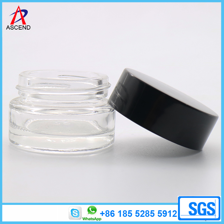 Glass Cream Jar for Cosmetics Packaging 5g