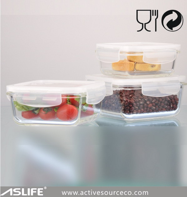 Aszt340_airtight Locked Lid Food Storage Containers!reasonable ...