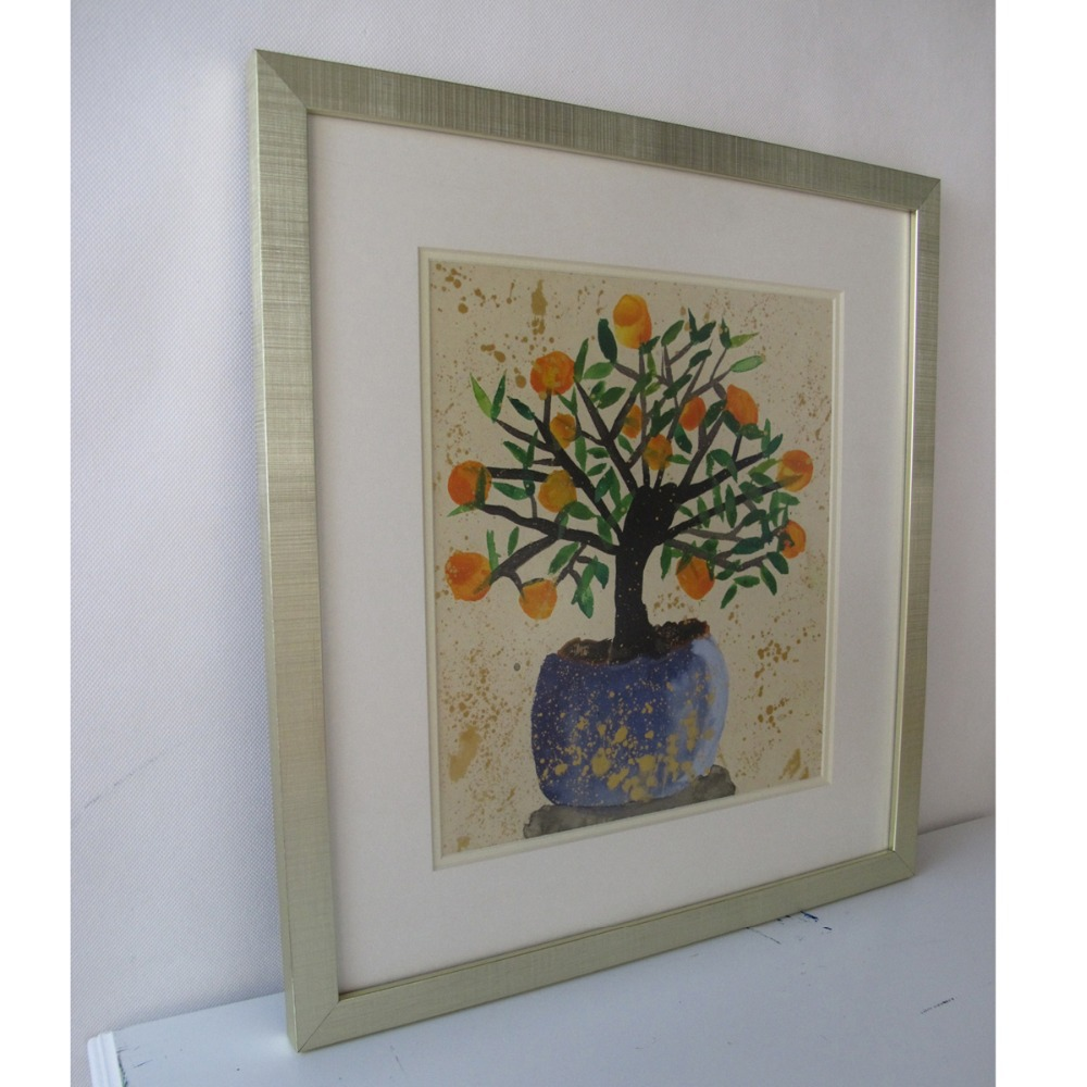 Anti Glare Acrylic Picture Framed Canvas Or Paper Art