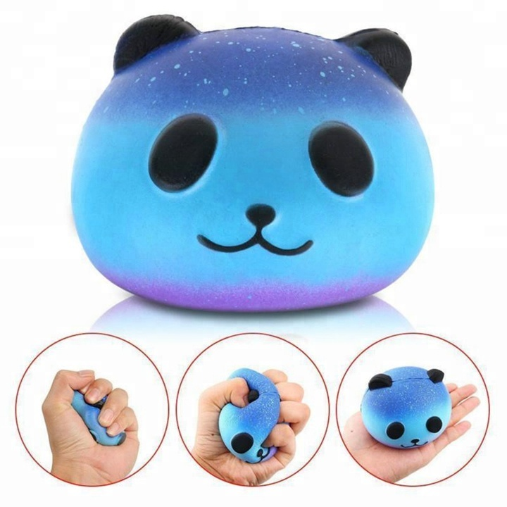 Funny christmas toys slow rising cream scented kawaii squishy panda