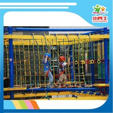 High strength steel Material and Outdoor Playground Type adventure play equipment