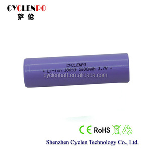 High rate prismatic, 3.7V 2600mah lithium battery, full power battery