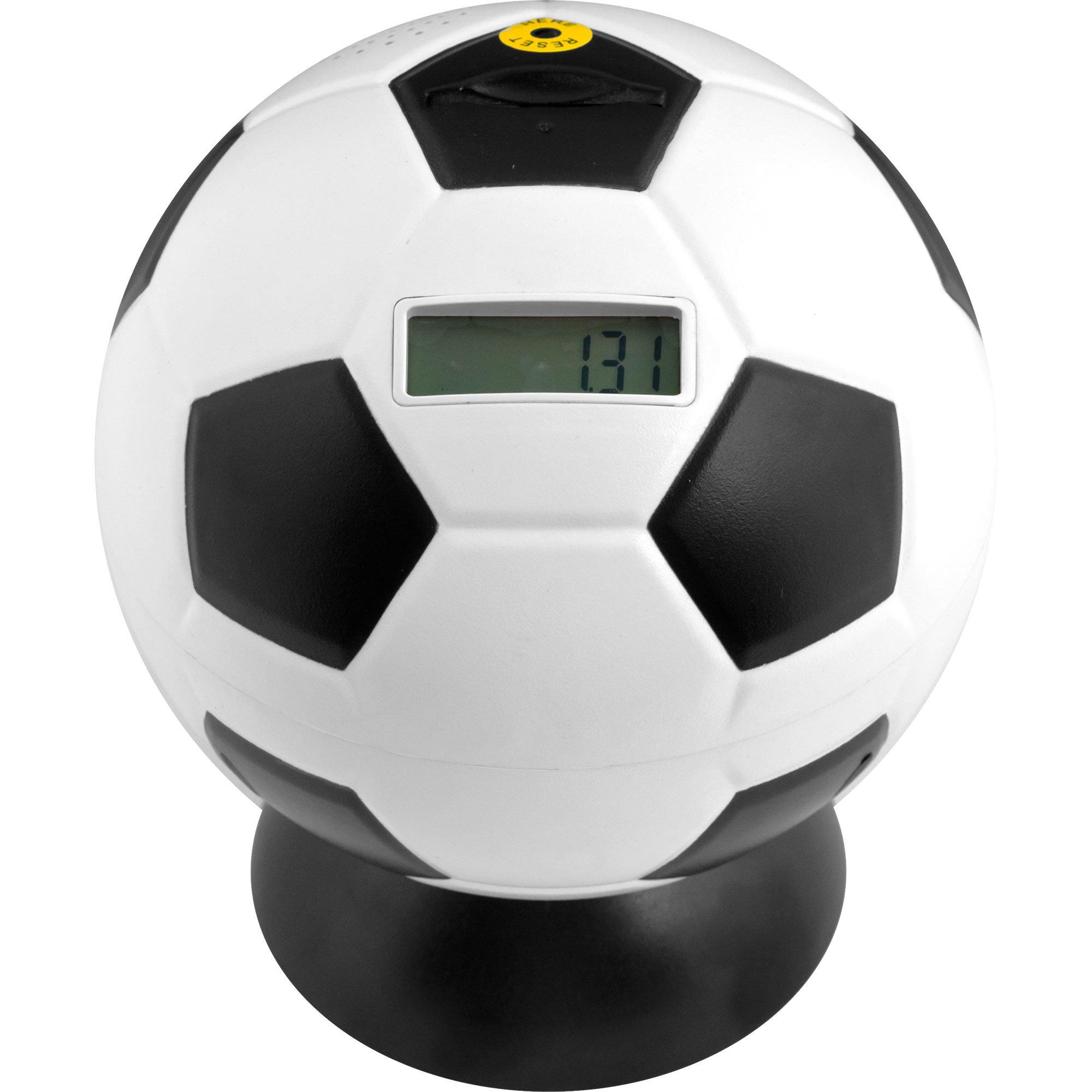 Trademark Games Soccer Ball Digital Coin Counting Bank