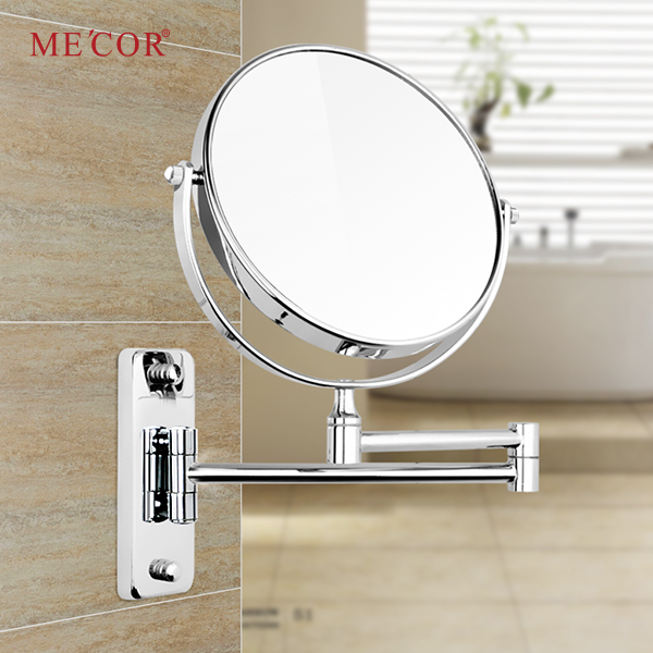 New design extensible foldable wall cosmetic mirror