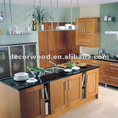 De color marr n oscuro roble mueble cocina cocinas identificaci n del producto 637880706 spanish - Cocinas color roble ...