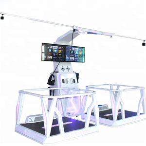 play 360 standing Platform Equipment Kat Walk with vr headset