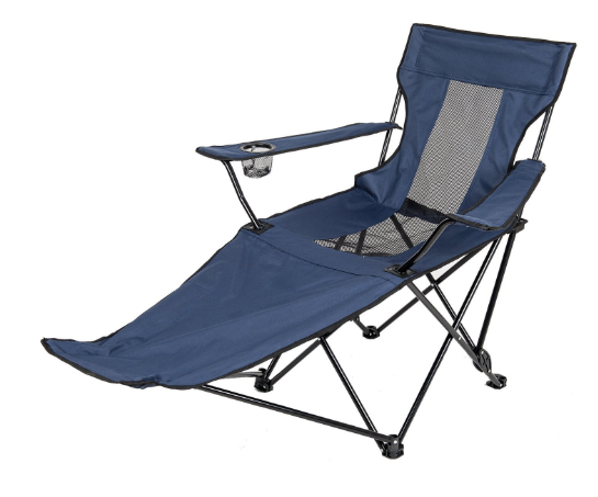 Outdoor Foldable Beach Camping Reclining Chair With