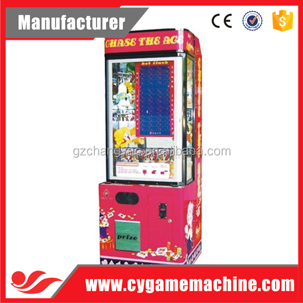 Popular Stacker Game Machine Red Stacker gift Game