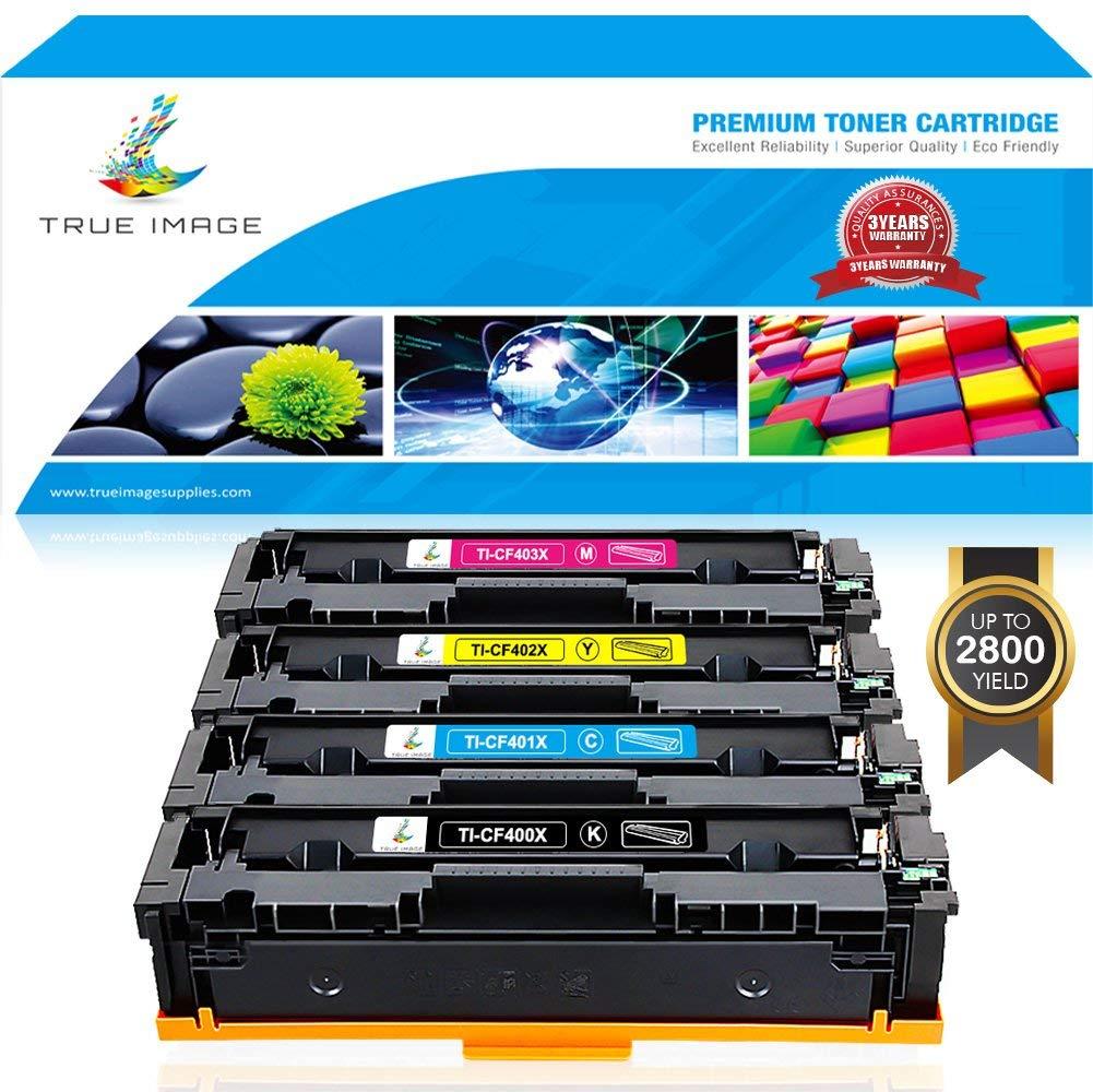 5PK CF400X CF401X CF402X CF403X Set For HP201X LaserJet Pro M252dw M277