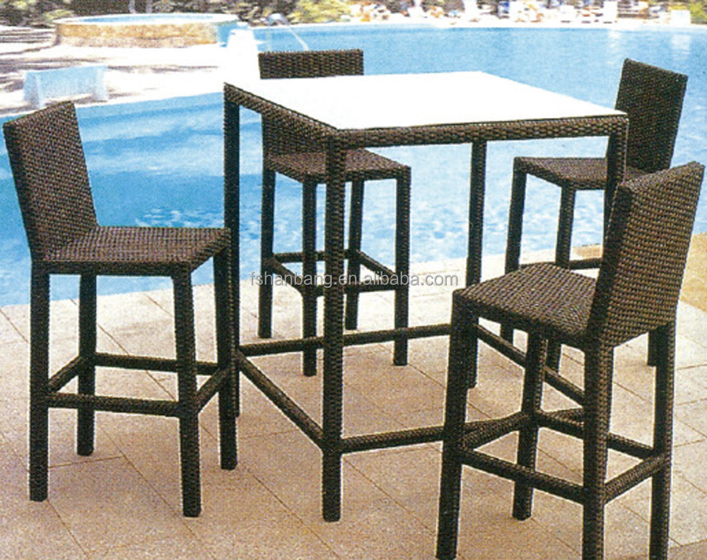 outdoor bamboo counter tiki bar table chair stool set & Outdoor Bamboo Counter Tiki Bar Table Chair Stool Set - Buy Bamboo ...