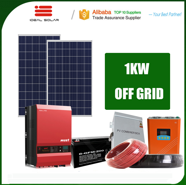 wind turbine and solar panel hybrid 1000w 3kw 5kw 8kw 10kw off grid solar power system with 48v ion lithium battery