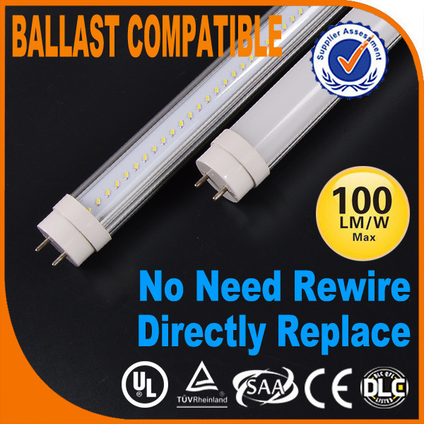 Instant Fit connect Electronic & magnetic ballast LED Tube T8 1200mmTUV ETL SAA Approved