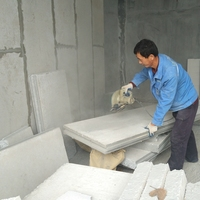 lightweight precast panels/hollow core wall panel machine