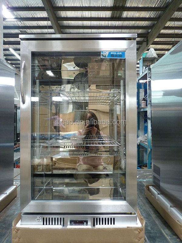 Supermarkt display drie glazen deuren 318l bar koelkast compressor buy product on - Thuis container verkoop ...