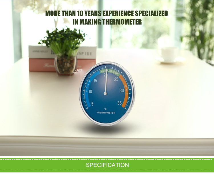 Mercury Most Accurate Clock Indoor Outdoor Thermometer - Buy ...
