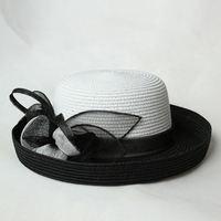 New Design Free Sample Cheap Sinamay Wedding Hat