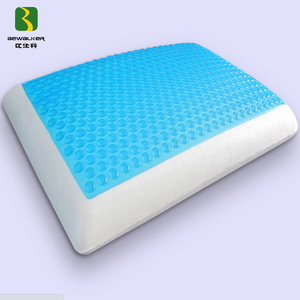 High Density Gel Memory Foam Sleep Pillow For Curing Neck Pain