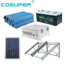 2kw solar electricity generating stand alone solar system for home