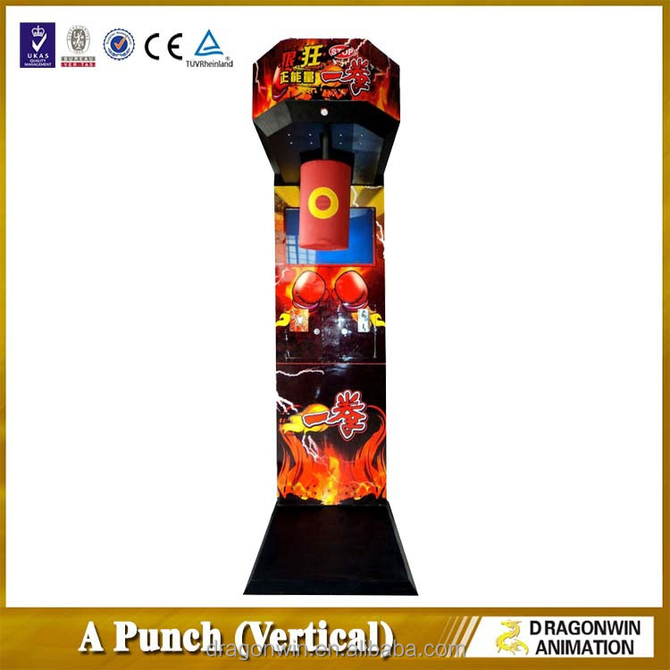 coin operated boxer training A punch redemption electronic amusement multiple boxing games punching game