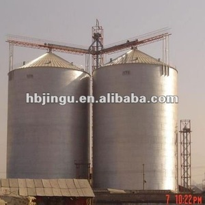 farm silos for sale 500T wheat grain stoage silo