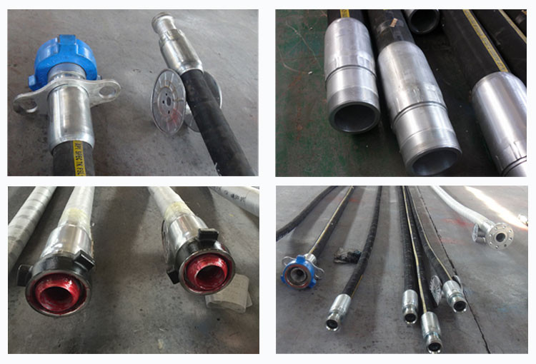 API 7K Rotary and Drilling Rubber Heat Resistant Hose