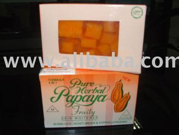 Pureskin Papaya Fruity Soap 4 In 1 - Buy Papaya 4in1 Product on Alibaba com