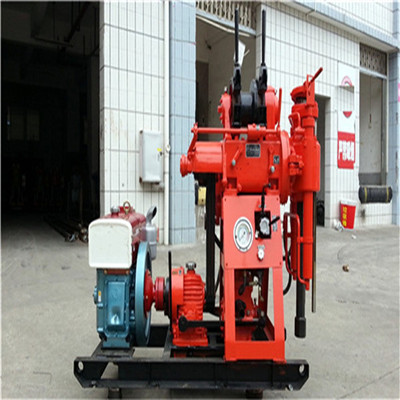 Diesel Engine Hydraulic Water Well Core Drilling Rig For Exploration