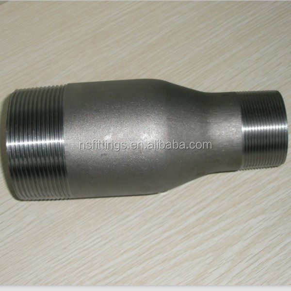 Forged steel swage nipple MSS SP-95 swage nipple Electro Zinc Plated