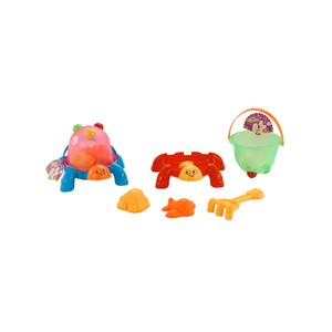 Beach tool set play game funny kid turtle toy