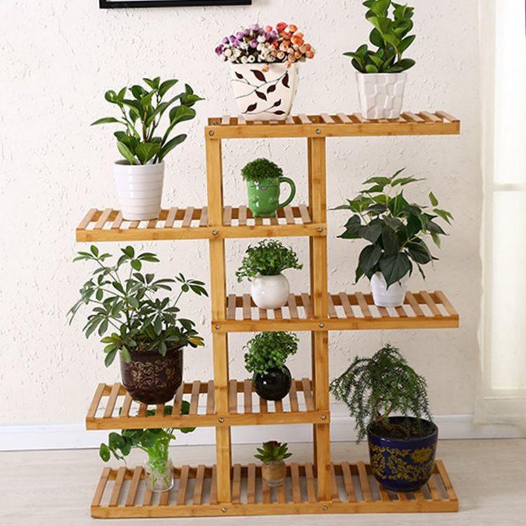 suporte de bambu vaso de flores buy suporte de madeira suporte de bambu suporte vaso de flores. Black Bedroom Furniture Sets. Home Design Ideas