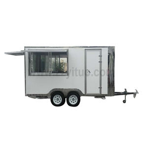 Best Sale Fast Food Kiosk / Mobile Food Trailer / Stainless Steel Food Truck