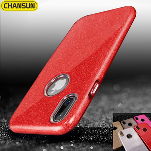 Plating luxury bling 3in1 shockproof flexible phone case cover for iphone x