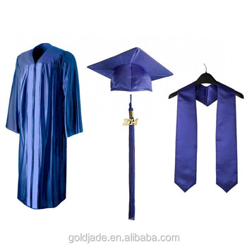 College Graduation Gown Cap School Gowns Uniform - Buy Graduation ...