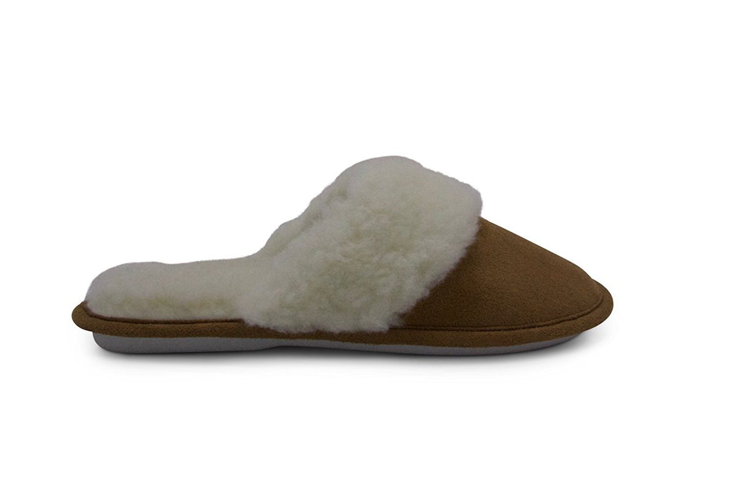 Aussie Merino Fur Lined Wool Slipper Cozy Indoor Warm House Slipper W/Indoor Outdoor Sole-Victoria