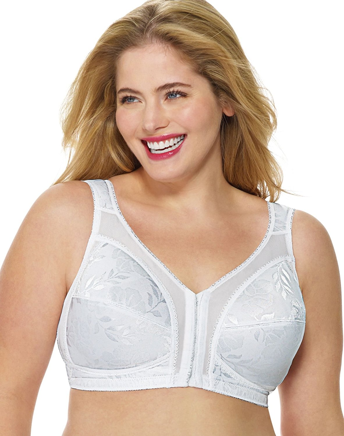 0c3e647d78228 Buy Playtex Women`s 18 Hour `Easier On` Front-Close Wirefree Bra ...