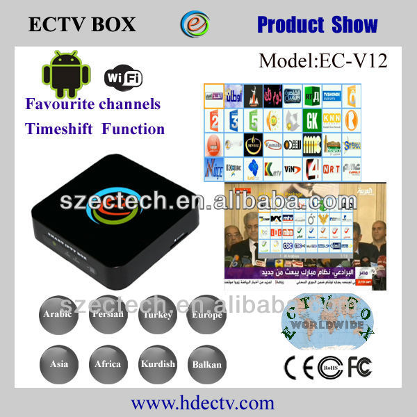 ECTV arabic iptv box much better than ATN iptv box