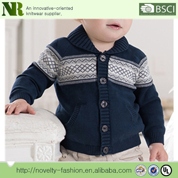 Winter Jacquard Heavy Cool Baby Boy Sweater Designs
