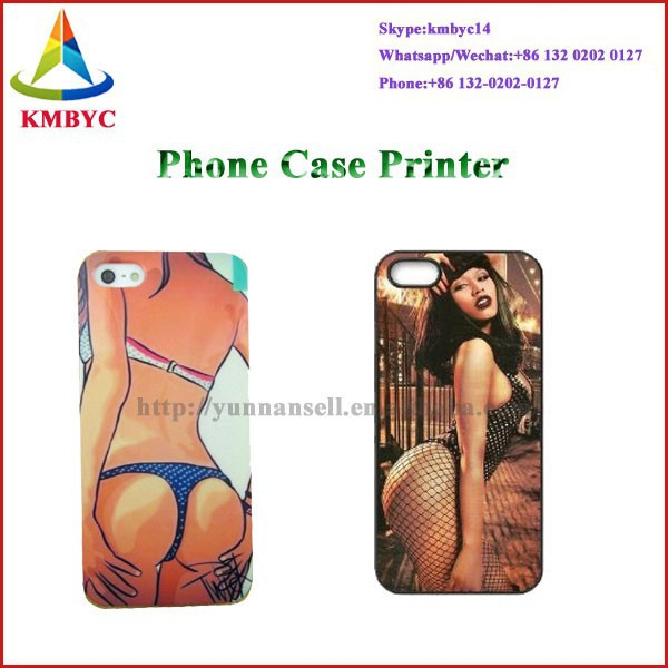 easy to cooperate mobile phone printer,easy cellphone case printer