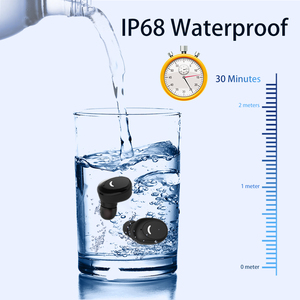 IPX8 Waterproof Bluetooth 5.0 Earbuds Wireless Headset with Mic & 600mah Charging Case Deep Bass Headphones for Running Sport