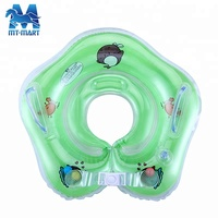 6P Phthalate free PVC baby swim neck collar ring inflatable baby infant swimming float neck ring wholesale