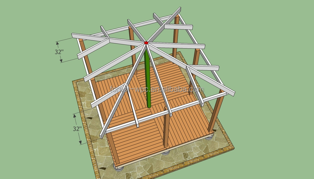 Wholesale wpc dome gazebo for sale used gazebo for sale wood ...