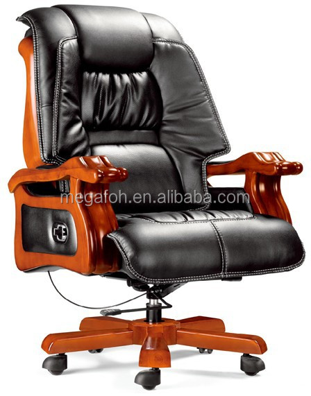Supreme electric adjustable executive office chair leather ceo chair(FOHA-19)