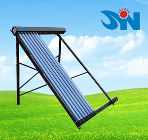 vacuum tube solar collector for pool and hotel water heating solar energy system