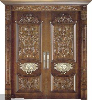 Wooden Main Door Design Antique Wooden Door Double Wood Door - Buy ...
