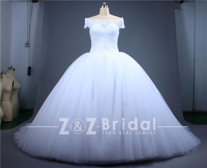 Elegant Princess Wedding Dresses Cut Customized Sweetheart